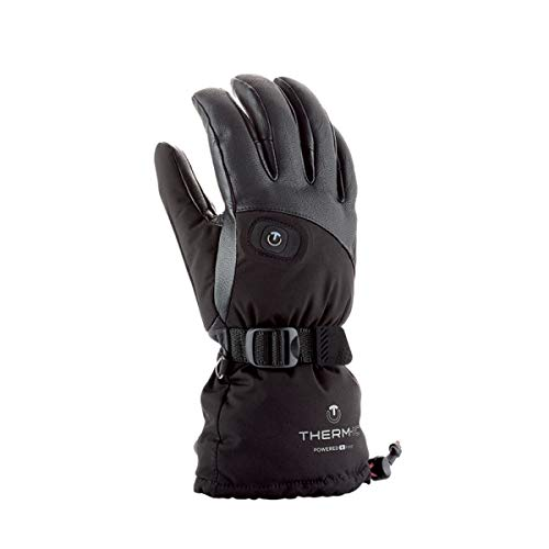 Therm-ic Damen POW Gloves Lady Heizhandschuh, Schwarz, -