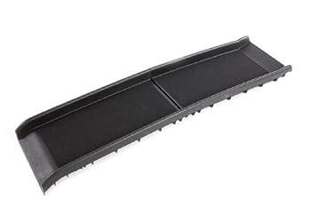 Rampe noir ou bleu en plastique, pliable en deux, forte et légère pour chien. (noir)