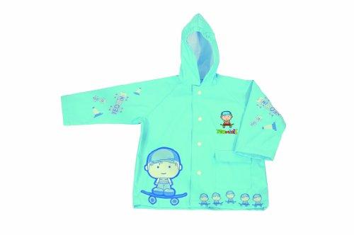 Yeominis Imperméable pour enfant Bleu 3 ans