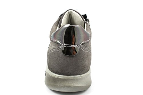 Ricosta Tinna, Sneakers Basses Fille Gris (Graphit)