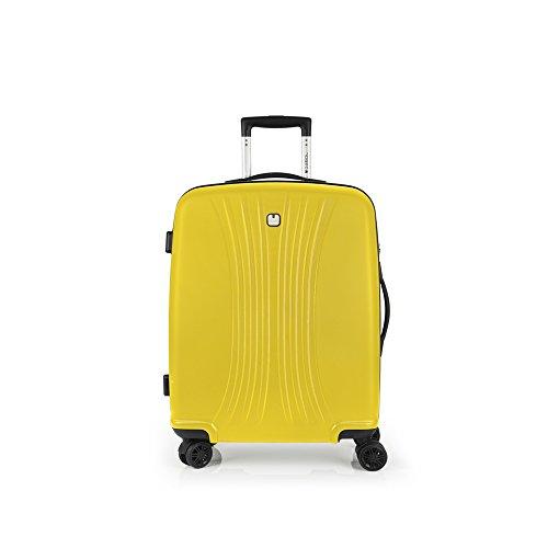 Maleta Gabol amarilla mediana, 59 L