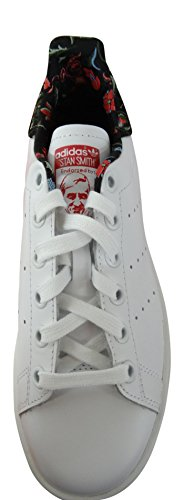 adidas Originals Stan Smith, Low-Top Sneaker femme FTWWHT/FTWWHT/VIVBER S79412