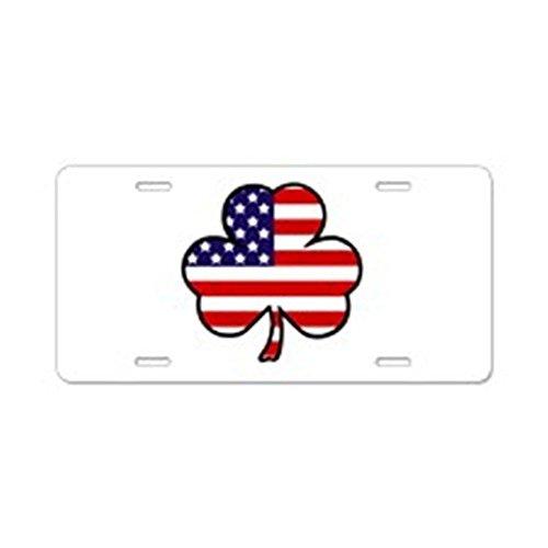 Persönlichkeit Nummernschild USA Shamrock 'Aluminium License Plate Standard mehrfarbig (Shamrock Teller)