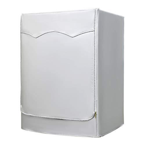 AKEfit Housse pour Lave-Linge et sèche-Linge à Chargement Frontal, imperméable, Argent, Silver, 23'W×25'D×33'H