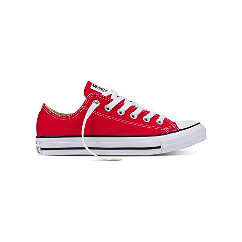 Converse Unisex-Erwachsene Chuck Taylor All Star-Ox Low-Top Sneakers, Rot (Rot/Rot), 41 EU -