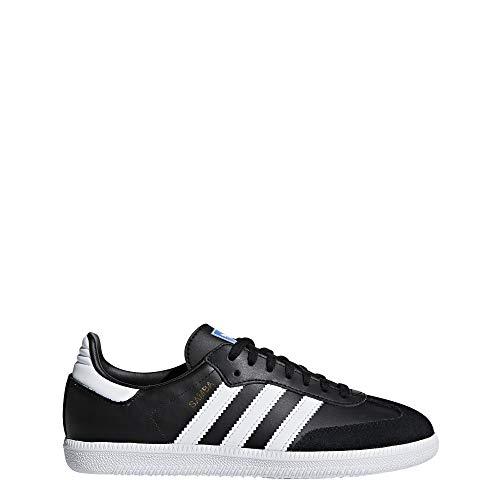 Adidas Samba OG J, Zapatillas de Deporte Unisex Adulto, Negro (Negbas/Ftwbla 000), 38 2/3 EU