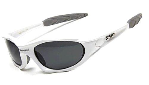 X-Loop Sonnenbrille Stilvolle Uv400 1 Mittel Pz-weiß