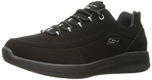 Skechers Womens/Ladies Synergy 2.0 Side Step Leather Trainers Shoes