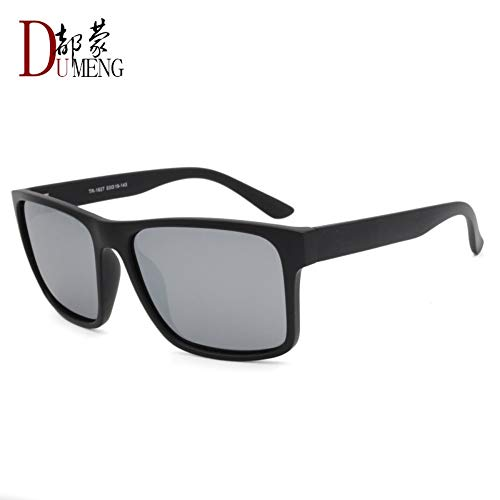 Preisvergleich Produktbild Sonnenbrille Für Männer High Fashion Square Polarisierte Sonnenbrillen Designer Outdoor Reisen Sport Lightweight Comfort Sommer Uv400 Sand Schwarzen Rahmen Quecksilber