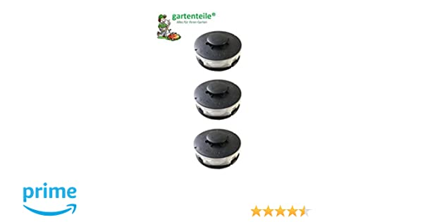 Performance Power Einhell RTV Bobine de rechange//bobine de fil double King Craft Gardenline GLR GLT pour coupe-bordures /électriques lot det 3 bobines compatible avec ALDI Top Craft