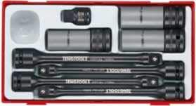 Tengtools ttts08-Reihe von Gläsern und Stangen Torsion für den Druck Rollen-Autos -