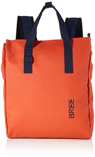 BREE Unisex-Erwachsene Punch 732, Backpack W19 Rucksack, Orange (Pumpkin), 12x38x32 cm