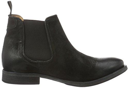 Mentor - Mentor Chelsea Boot, Bottes Basses Avec Rembourrage Léger Femme Noir (noir (noir))