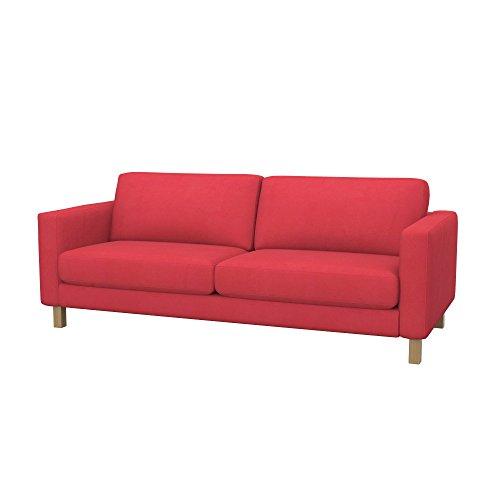 Soferia - IKEA KARLSTAD Funda para sofá Cama de 3 plazas, Eco...