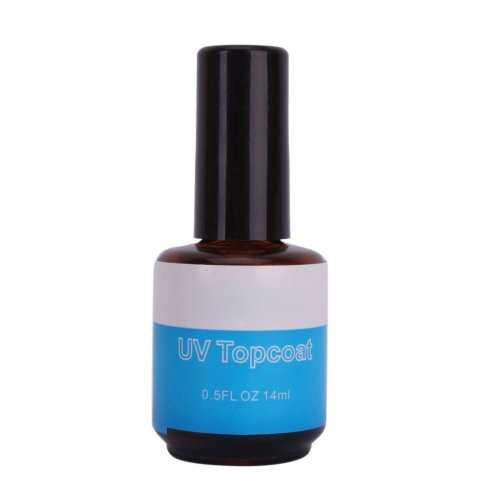 TOOGOO(R) Gel UV De Finition Top Coat 14ml Pour Manucure Ongle