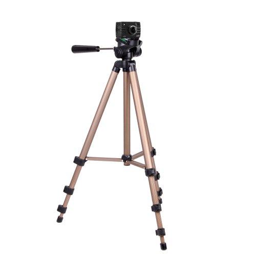 Trépied en aluminium résistant DURAGADGET pour PNJ Cam AEE SD18, SD19, AEE SD21 et AEE SD23 Mini Caméra de sport embarquée étanche/caméscope