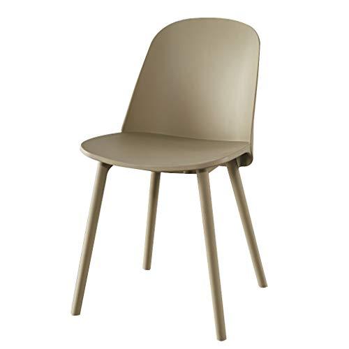 Dark Brown Counter (LXQGR Esszimmerstühle, Der Stuhl mit Einer Kapazität von maximal 50 kg, Kitchen Dining Chair Dark Kitchen Counter Office (Color : Brown))