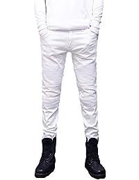 Amazon.es: Pantalones Blancos Hombre - 42: Ropa