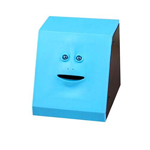 Hermosairis Geld Essen Face Box Nette Facebank Piggy Coins Bank Lustige Geld Münze Sparkasse Kinder Spielzeug Geschenk Dekoration Rone Leben