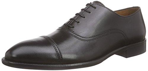 Lottusse L6553-00500-01 - Scarpe Oxford Uomo, colore nero (lond.old negro), taglia 44 (UK 10)