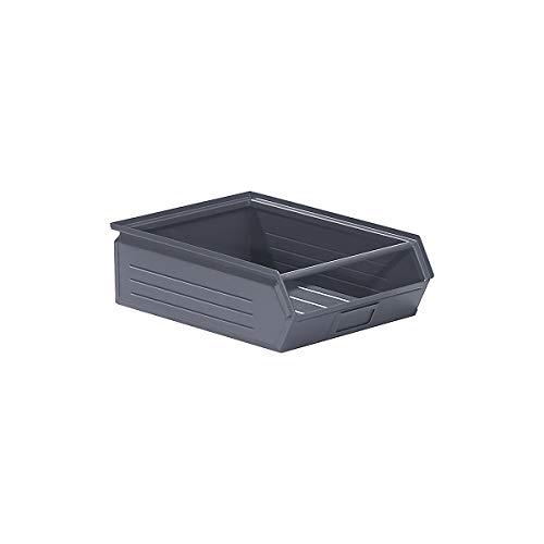 Bac à bec en tôle d'acier - capacité 16 litres - gris basalte - bac bac de stockage bac à bec bac à visser bacs bacs de stockage bacs à bec bacs à visser conteneurs à bec Bac Bac de stockage Bac à bec Bac à bec en tôle d'acier Bacs Bacs de stockage Bacs à