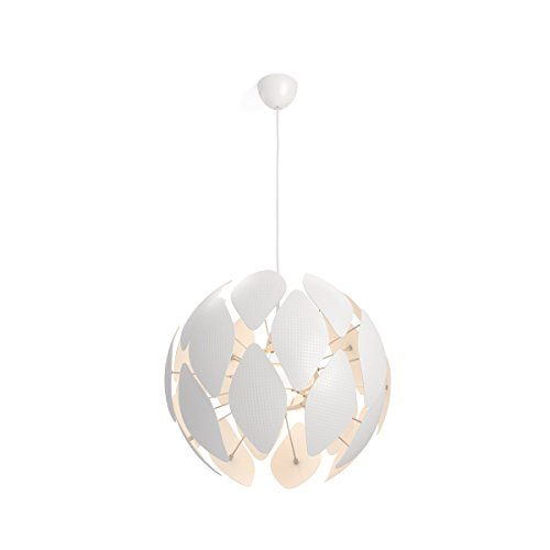 Philips Luminaire intérieur Smart volume Chiffon suspension 60cm de diamètre blanc 1x60w 230v