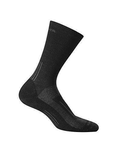 Icebreaker Herren Wandersocken Hike Light Crew Socke, Black, L