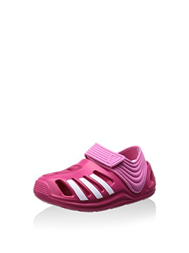 Adidas Bebê Unisex Zsandal I Krabbelschuhe Berry Rosa Vívida / Branco / Semi Solares