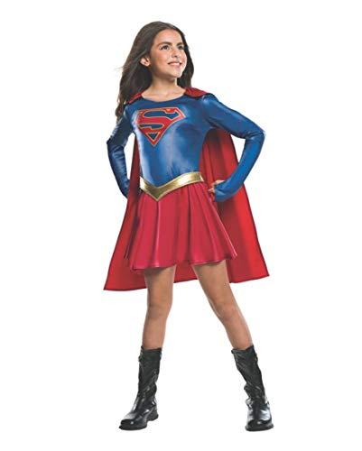Horror-Shop Supergirl TV Serie Kostüm für Mädchen M