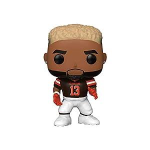 Funko Pop NFL: Browns-Odell Beckham Jr. (Home Jersey) Figura Coleccionable, (43973)