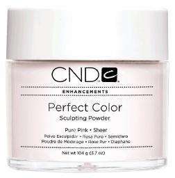 Polvo de color puro de la marca CND, color rosa, 104g
