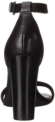 Lauren Ralph Lauren Kendal Robe Sandal Black Burnished Vachetta