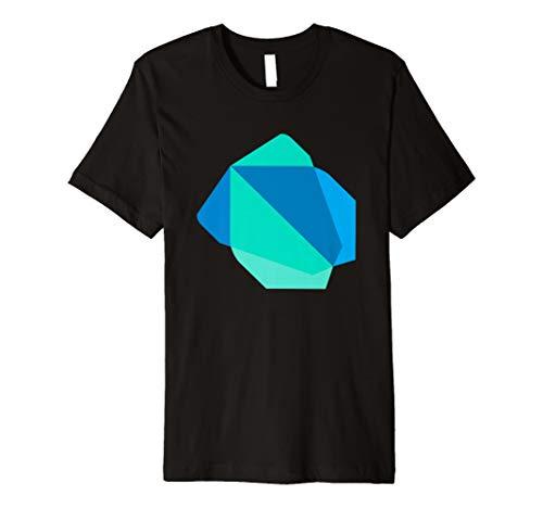 Dart Programmiersprache Offizielle Logo T-Shirt