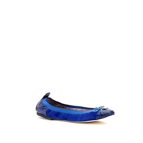 CAFèNOIR Da524, Ballerine Donna, Azul Royal, 35 EU