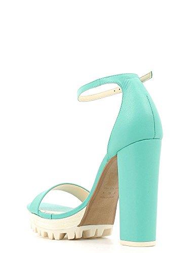GRACE SHOES 3-51091 Sandales à Talons Hauts Femmes Verde