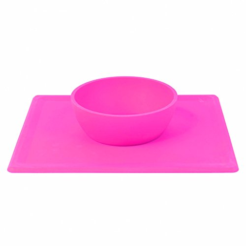 non-slip-silicone-placemat-baby-bowls-dishwasher-safe-childrens-feeding-bowl-bpa-and-toxin-free-pink