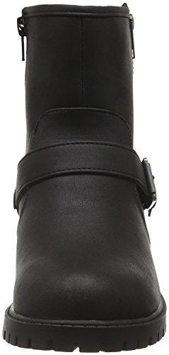 New Look Wide Foot Biker 2, Bottes Classiques femme Black (black/01)