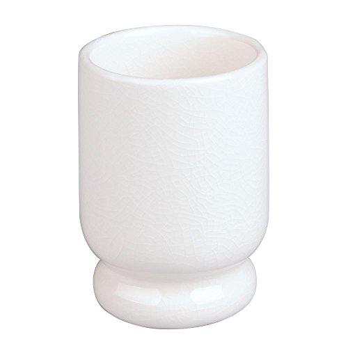InterDesign 02517EU crème Keramikbecher, Craquelé