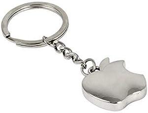 Jaycoknit Apple-Pie Metal Collectible Premium Silver Key Chain & Keyring