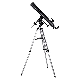 Bresser Refractor Telescope Quasar 80/900 EQ with mount and tripod