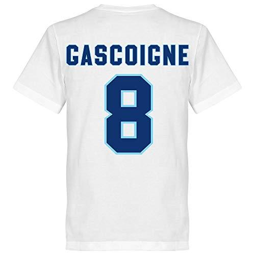 Lazio Gascoigne 8 Team T-Shirt - weiß - XXXXL -
