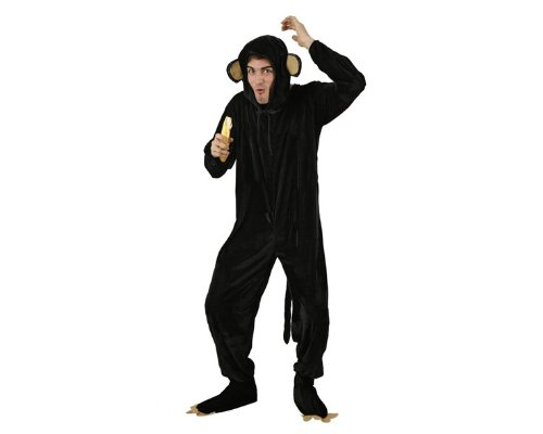(ATOSA 95398–Kostüm–-Kostüm Affe Erwachsene–Größe 2)