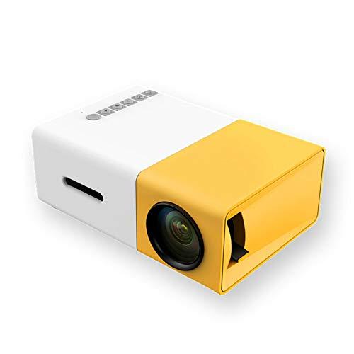 Mini Mini Proyector De Entretenimiento, Proyector Portátil De LED Para El Hogar Con Interfaz De Alta Definición USB/AV/HDMI Para Entretenimiento Al Aire Libre Para Videojuegos De Cine En Casa.