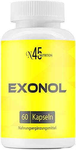 Exonol | Muskelaufbau | Testo Booster | 60 Kapseln | hochdosiert