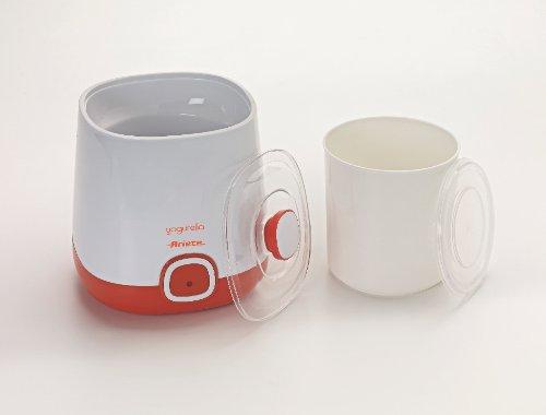 31B3h0Oje2L - Ariete 621 Maker Container and one Liter Capacity for Yoghurt Yogurella-621, 20 W, White