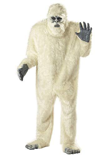 Generique - Yeti Kostüm für Erwachsene M (40/42)