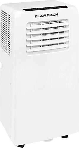 KLARBACH Mobiles cm 30952 we mit Abluftschlauch   Kühlen   Trocknen   Ventilieren   Klimagerät mit Energieeffizienzklasse A   Selbstdiagnosefunktion   9000 BTU   2600 Watt   weiß