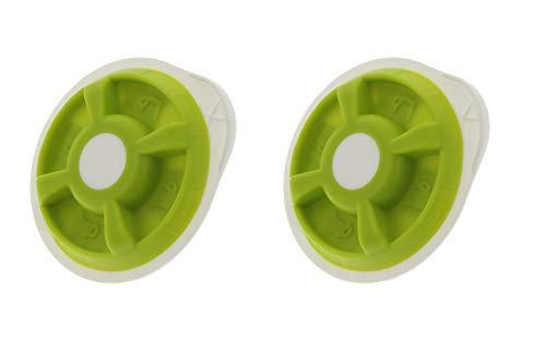 FindASpare grüne Heißwasserscheiben für Bosch Tassimo T20 T4 T40 T42 T65 T85 T12 T32Amia Suny