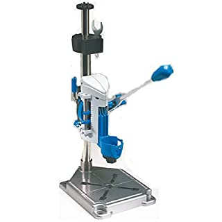 Dremel 3-in-1 Workstation, Drill Press, Rotary Tool Holder, and Flex-Shaft Tool Stand - Black/Blue