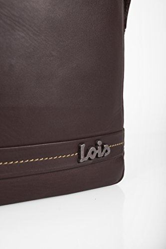 LOIS - 19726 SPALLA PELLE DIMENSIONI IPAD Brown